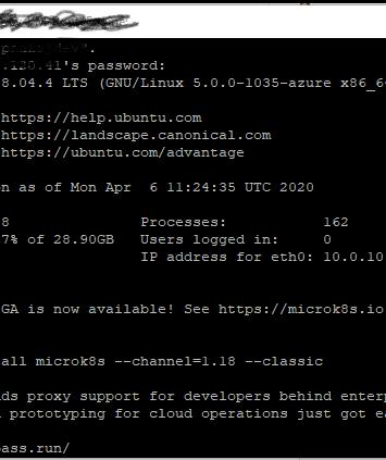 How to connect Ubuntu 18.04 VM on Microsoft Azure