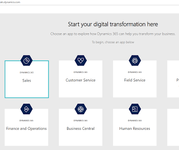 how to enable trial d365 finance and operations application
