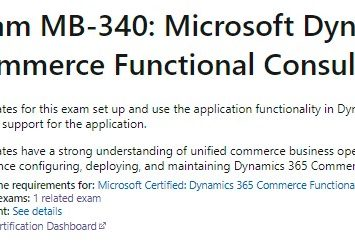 How to pass MB340, Tips for MB340: